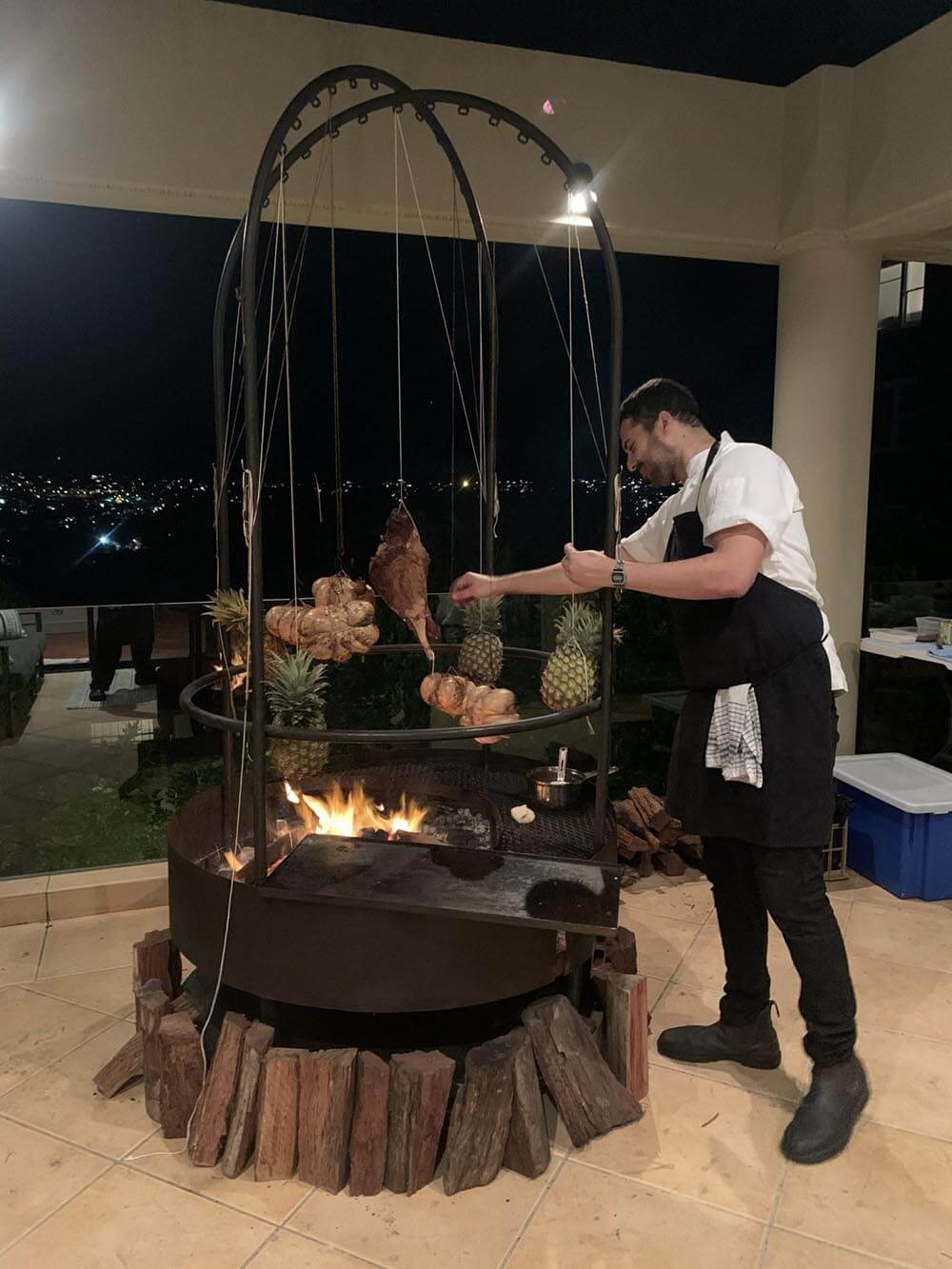 chapa bbq catering sydney party